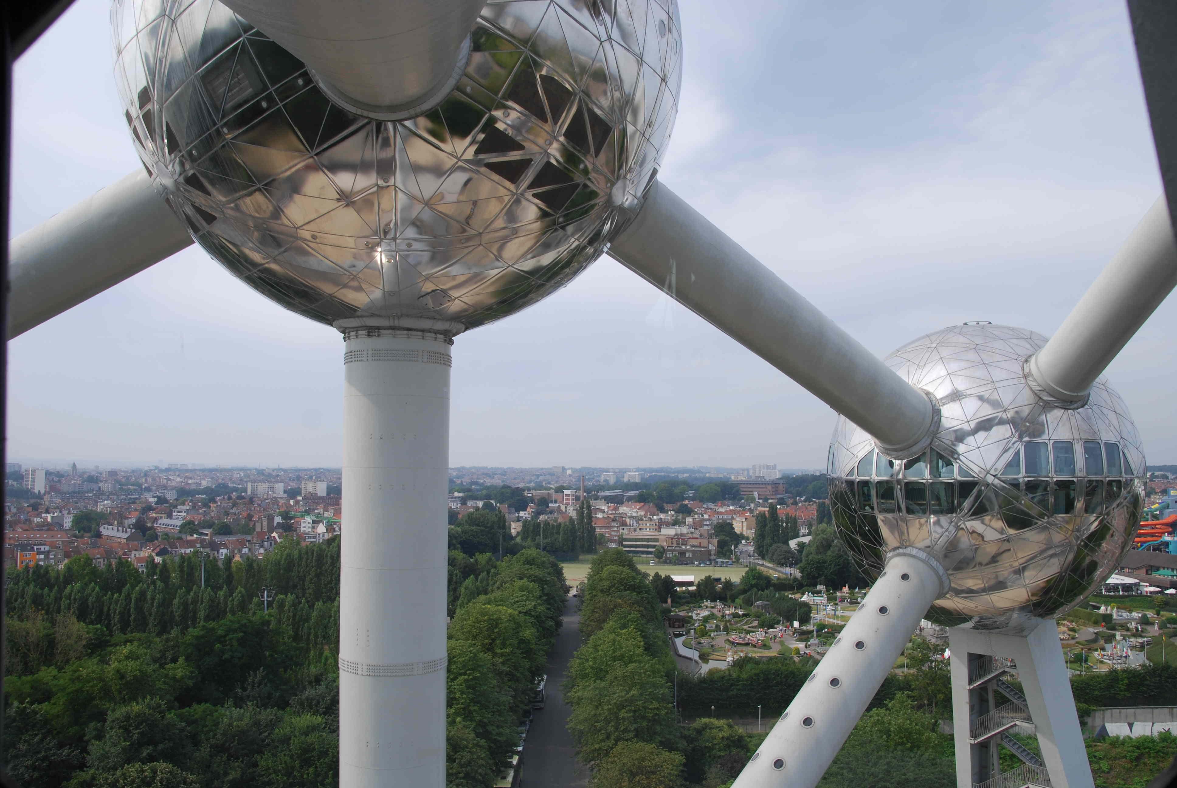 Atomium Brüssel Meine belgische Seite
